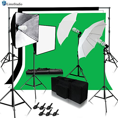 Limostudio Continuous Lighting Photo Amp Video Studio Kit