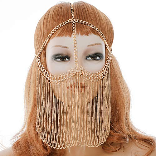 Gold Masquerade Mask Ball Women product image
