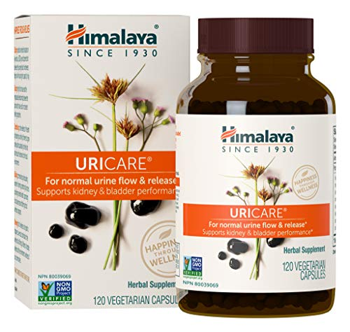 Himalaya UriCare/Cystone, Caffeine-Free, Kidney and Urinary Tract Support 840 mg, 120 Capsules, 1 Month Supply ()
