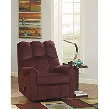 Amazon Com Signature By Ashley Recliner In Burgundy
