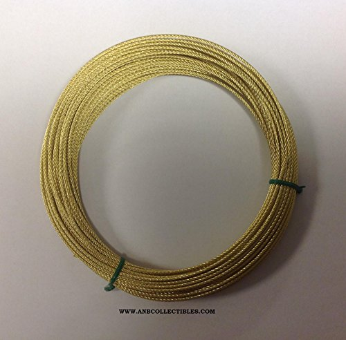 Herschede Grandfather Clock Cable 50 Feet Brass