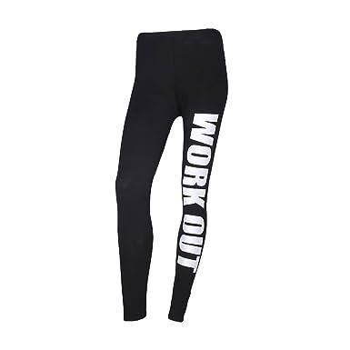 reasonably priced wide varieties save off LQZ(TM) Femme Fille Leggings Sport Yoga Jogging Imprimé ...