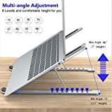 Adjustable Laptop Stand - 8 Levels Height Laptop