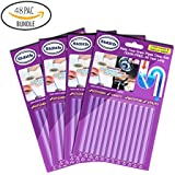 Sidith Drain Cleaner Sticks, Sink Deodorizer (48 Pack), Sink Freshener to Keep Odor Free As Seen On TV for Bathroom, Kitchen, Toilet, Shower drain (Lavender)