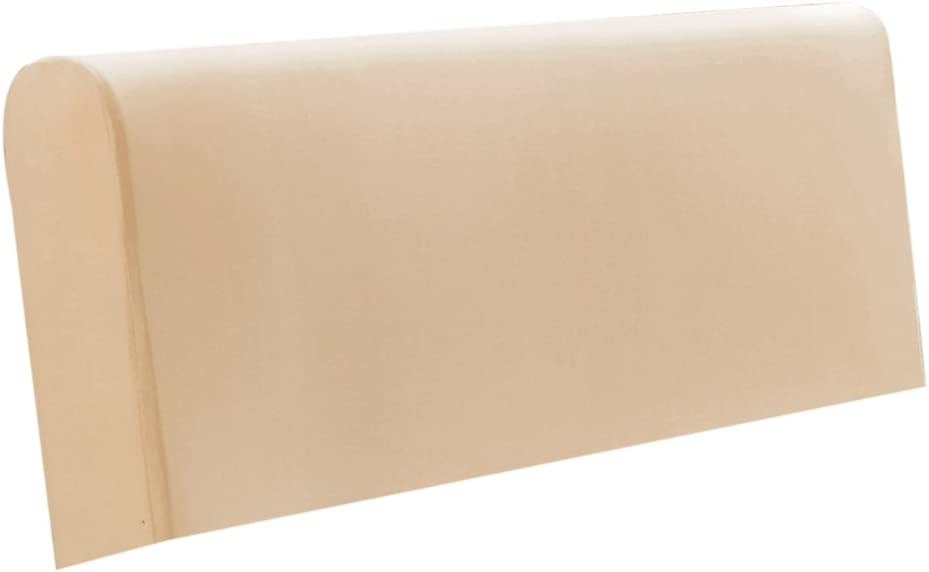 190-220cm Width Strench Bed Headboard Slip Cover for King//California King Beige