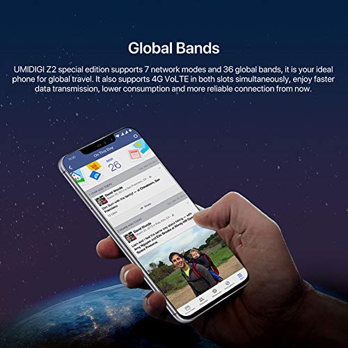 Smartphone Android 8.1 4G UMIDIGI Z2 Global