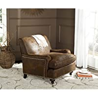 Safavieh Mercer Collection Chloe Club Chair, Brown