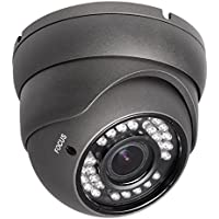R-Tech RVD70B 1000TVL Outdoor Dome Security Camera with Night Vision and 2.8-12mm Varifocal Lens