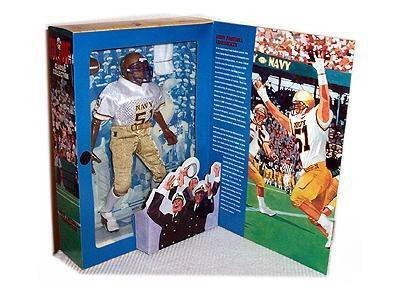GI Joe Year 1998 Classic Collection Series 12 Inch Tall Action Figure - Navy Football Linebacker with Helmet, Jersey, Padded Pants, Cleats, T-Shirt, Sholder Pads, Socks, Towel and Football (Africian
