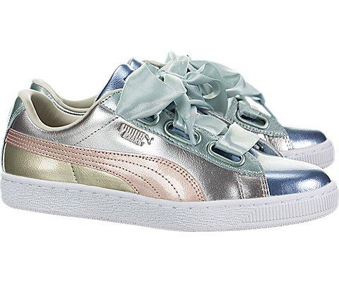 pretty nice cc3c6 7d8f4 PUMA Women's Basket Heart Bauble Sneakers - Buy Online in ...