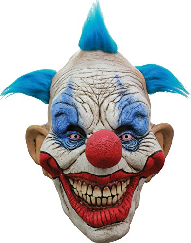 Dammy The Evil Circus Killer Clown Scary Latex Adult Halloween Costume Mask -