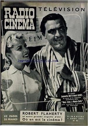 Livres en format pdf téléchargement gratuit RADIO CINEMA TELEVISION [No 81] du 05/08/1951 - J. BATTI - H. GENES DANS NOUS IRONS A MONTE-CARLO - ROBERT FLAHERTY. en français PDF RTF
