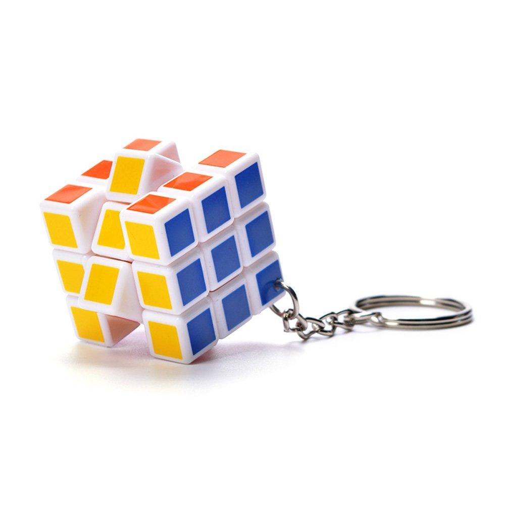 Amazon.com  Baidecor Cube Puzzle Keychain 3 Layers  Toys   Games 95af1144b2cf