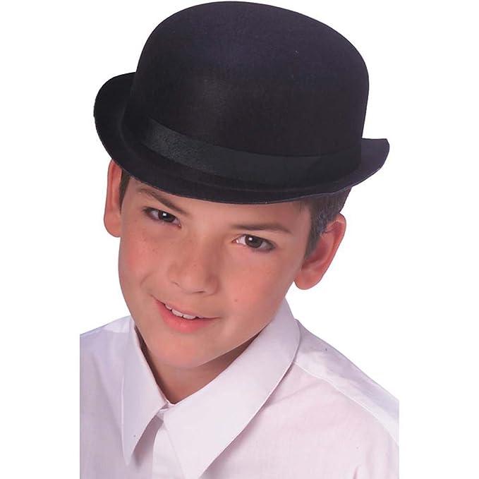 Amazon.com  Rubie s Costume Co. Child Dura. Derby Hat-Bk Costume  Toys    Games 0494218489cb