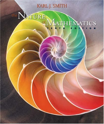 The Nature of Mathematics (10th Edition) (Available Titles CengageNOW)