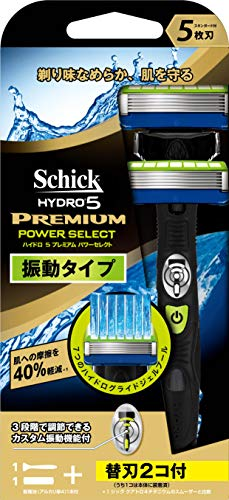 Japan Health and Personal Care - Schick Hydro 5 premium power select holder (blade 1 with co) *AF27*
