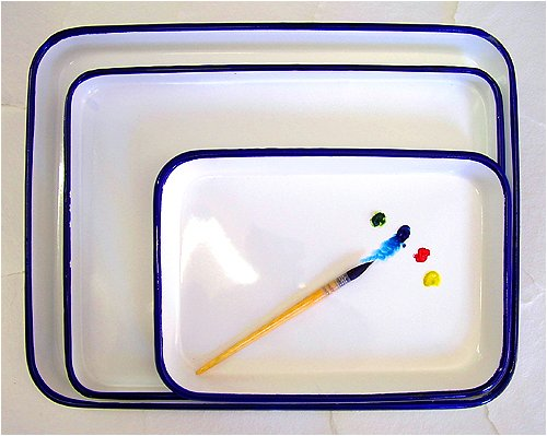 Watercolor palette 13 x 17 inch Butcher Tray by Jack Richeson