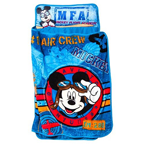 Disney S Mickey Mouse Quilted Toddler Nap Mat With Blanket