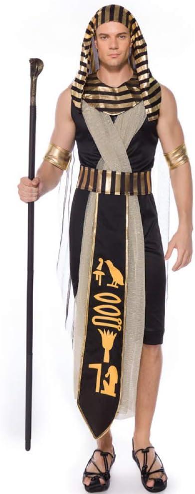COSOER Disfraz De Cosplay del Rey Monarca del Antiguo Egipto ...