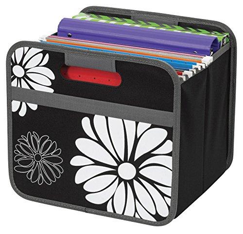 Merangue Collapsible Bin Storage and Organization Product, Black (1025-6051-00-000) by Merangue