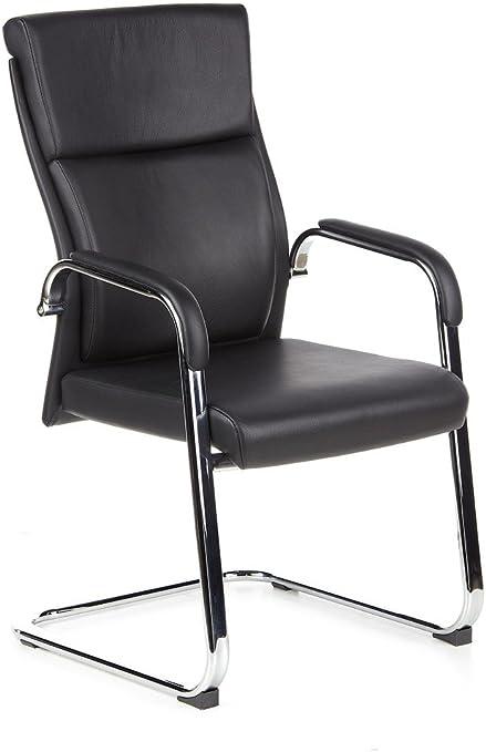 hjh OFFICE 600501 chaise de conférence, siège visiteur à