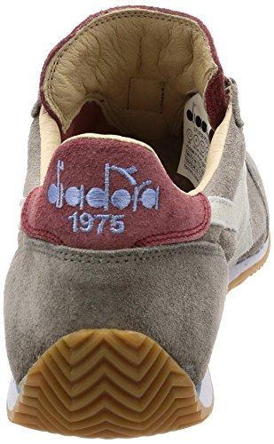 Heritage Kidskin Sneakers Donna e Uomo Grigio 75013 Diadora Ciottolo per Equipe qdU7RwZOfC