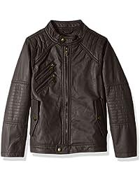 Baby Boys Ur Faux Leather Jacket