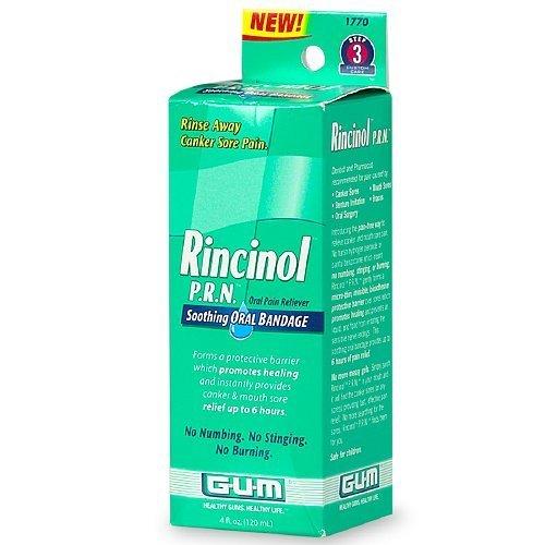 GUM Rincinol P.R.N orale Douleur Reliver -4, once