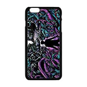 Fight Monster Abstract Art Black iPhone plus 6 case