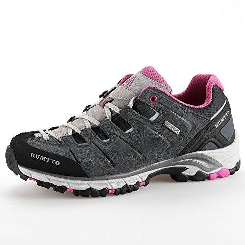 HUMTTO Hiking Shoes Narrow Sole Men Winter Outdoor Sports Climbing Shoes 2639 Grey Ne91F4oxt