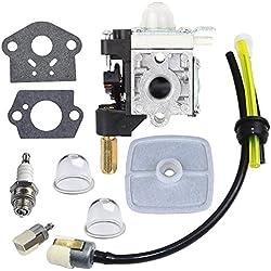 Carburetor with Spark Plug Gasket Fuel Maintenance Kit for ECHO GT200 GT201i HC150 HC151 PE200 PE201 PPF210 PPF211 SRM210 SRM211 Trimmer Brushcutter