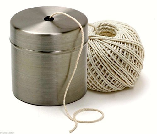Chef Butcher Cook Kitchen Natural Cotton Twine String Stainless Dispenser Norpro - Kitchen Twine Dispenser