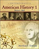 American History 1, Before 1865, Matthew T. Downey, 0077044347
