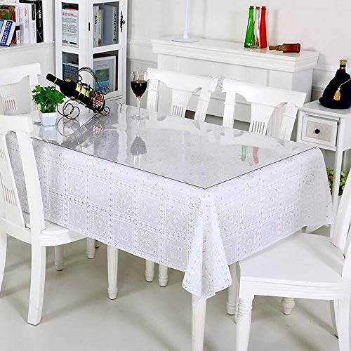 Dining Room Table Covers Protection: DiscoverDecor LovePads Multi Size 1.5mm Thick Custom Clear