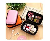 Multi-function Mini Zippered Storage & Travel Carrying Pouch - PINK