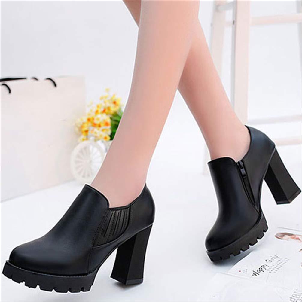 Femmes Imperméables Forme Escarpins Chaussures Plate Talons Haute dxeBorC