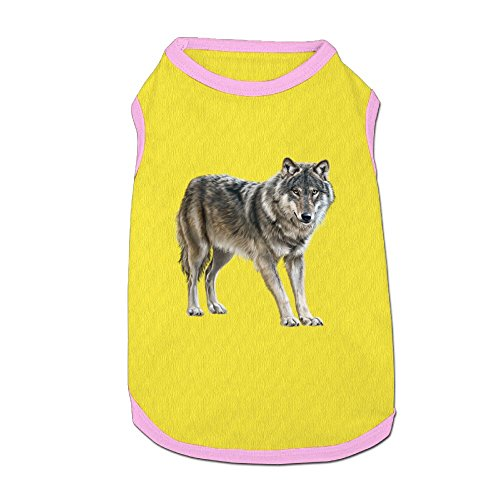 Dog T-Shirt Clothes Wolf Doggy Puppy Tank Top Pet Cat Coats Outfit Jumpsuit Hoodie ()