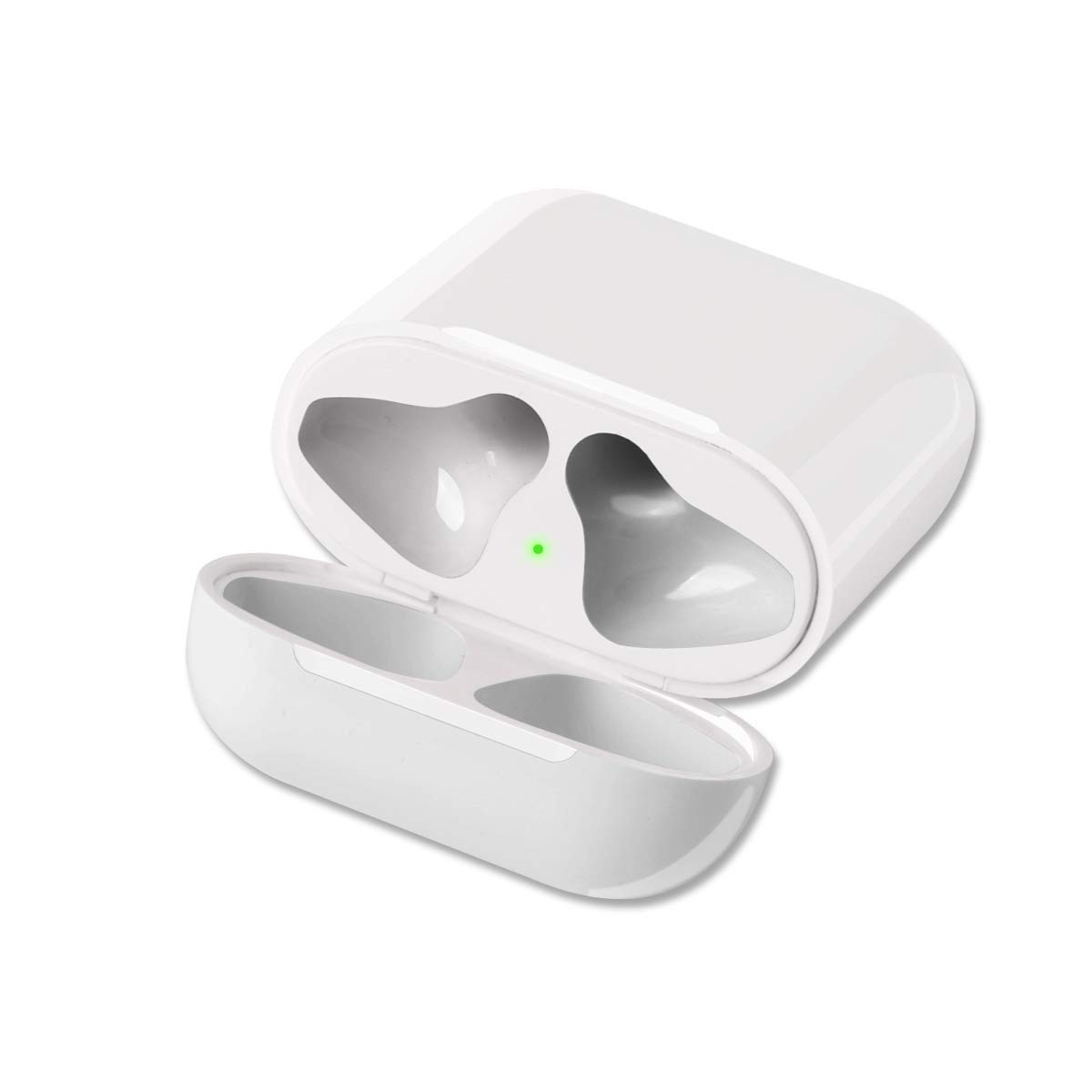 pretty nice ccf2c fe7a1 GreenCasty Airpod Charging Case Airpod Charger Adapter Compatible with  airpods Headphones Wireless Charging Case Replacement for Air Pods  Accessories ...