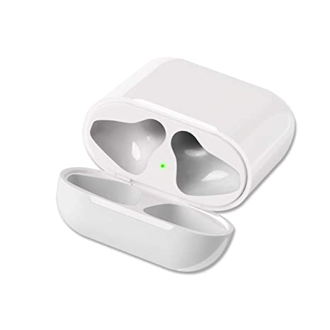pretty nice 718e1 059e6 GreenCasty Airpod Charging Case Airpod Charger Adapter Compatible with  airpods Headphones Wireless Charging Case Replacement for Air Pods  Accessories ...
