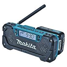 Makita MR052 12V Max Cxt Li-Ion Jobsite Radio, Blue