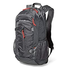 Easy to carry and easy to store, this lightweight daypack folds into the smaller front zip pocket for stowing. Durable 200-denier ripstop polyester stands up to the rigors of travel.