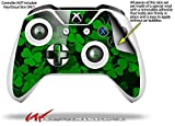 St Patricks Clover Confetti - Decal Style Skin fits Microsoft XBOX One S Wireless Controller