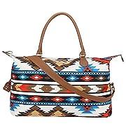 Atzec Weekender Bag Travel Duffel Bag For Women Large Atzec Tote Shoulder Bag With Shoulder Strap…