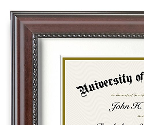 Top-rated Americanflat Mahogany Certificate Frame 11x14 - Made for ...