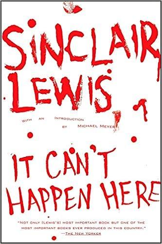 Amazon.fr - It Can t Happen Here - Sinclair Lewis 294a491d5217