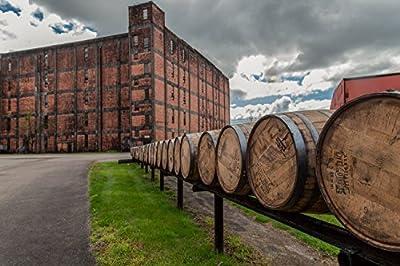 Bourbon Whiskey Barrel Fine Art Print | Buffalo Trace | Bourbon Whiskey Print | Whiskey Canvas | Bourbon Artwork | Kentucky Bourbon | Pappy van Winkle | Bar Wall Art | Bourbon Gift