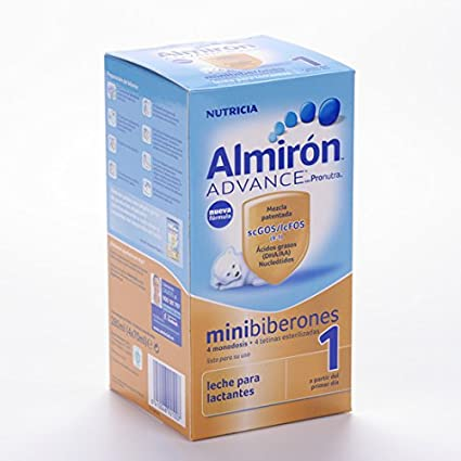 ALMIRON 1 LIQUIDO MINIBIBERON 280 ML 4 MONODOSIS 70 ML