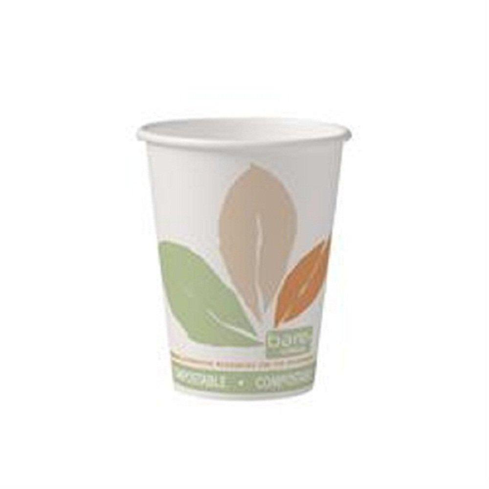 Dart Solo 412PLN-J7234 Bare Eco-Forward 12 oz. Paper Hot Cup - 1000/Case