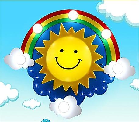 Leihongthebox El purificador de aire habitación niños sol Arco ...