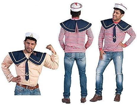 Cuello de marinero para marineros en azul oscuro con corbata ...